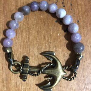 Lenny and Eva anchor bracelet